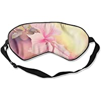 Eye Mask Eyeshade Pink Flowers Sleep Mask Blindfold Eyepatch Adjustable Head Strap preisvergleich bei billige-tabletten.eu