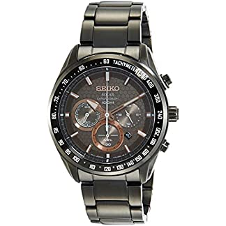 Seiko Analog Brown Dial Men's Watch – SSC587P1