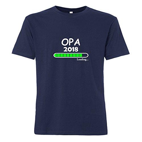 ShirtWorld Opa Loading 2018 - T-Shirt Navy