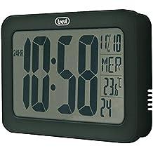 Trevi OM 3328 D Digital wall clock Plaza Negro - Reloj de pared (AAA,