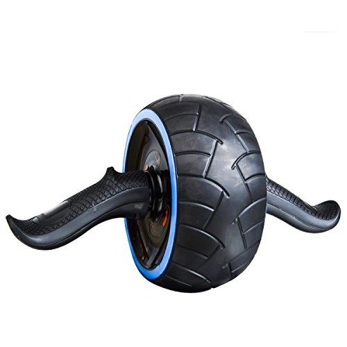 WANG Bauchtrainer Bauch Bauch Bauchtrainer Jumbo Rad Roller 37 * 20 * 20 Cm,Blue -