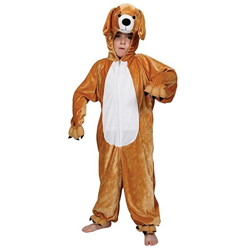 Childrens Animal Boogie Woogie Puppy Dog Halloween Fancy Dress Party Costume (Boogie Le Halloween)