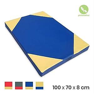 NiroSport Weichbodenmatte 100 x 70 x 8 cm Turnmatte Gymnastikmatte...