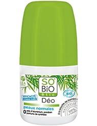 So'Bio Étic Déodorant à la Poudre de Bambou 50 ml Lot de 2