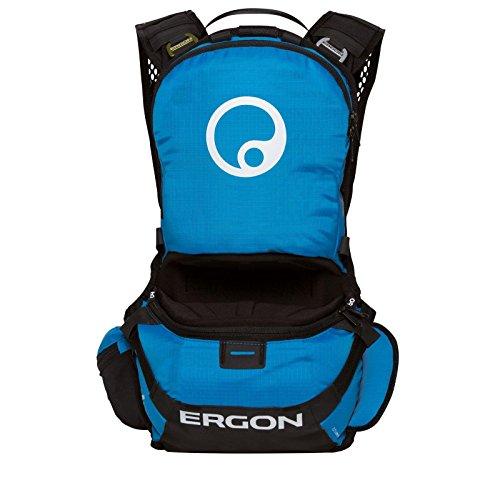 Ergon Fahrradrucksack mit Trinkfach BE1-S Enduro Schwarzblau