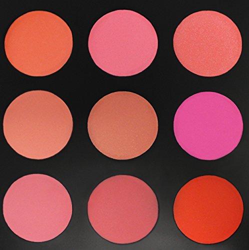 Morphe Brushes - 9B - The Blushed Blush Palette