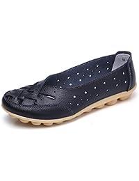 Gaatpot Mocasines para Mujer Respirable Ligero, cómodo y Antideslizante Moda Loafers Casual Zapatillas Verano Zapatos