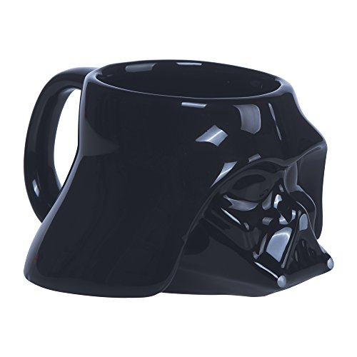 Star Wars klein 3D Darth Vader Becher, schwarz (Star Wars Darth Vader Becher)