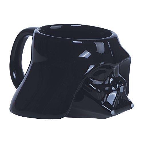 Star Wars Petit Mug Dark Vador 3D, Noir