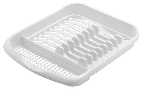 Addis Égouttoir à Vaisselle en Plastique Blanc