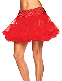 Leg Avenue Deluxe Layered Tulle Petticoat Skirt All Colours - 8990