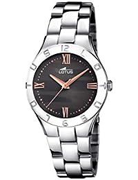 1c59ce8b0673 Lotus Watches Reloj Análogo clásico para Mujer de Cuarzo con Correa en  Acero Inoxidable ...