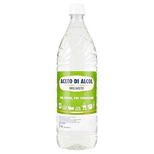 aceto bianco  Brillaceto aceto di alcol per pulire e conservare 1 litro (1000046707)