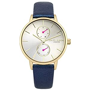Daisy Dixon Womens Analogue Classic Quartz Watch with Leather Strap DD086UG