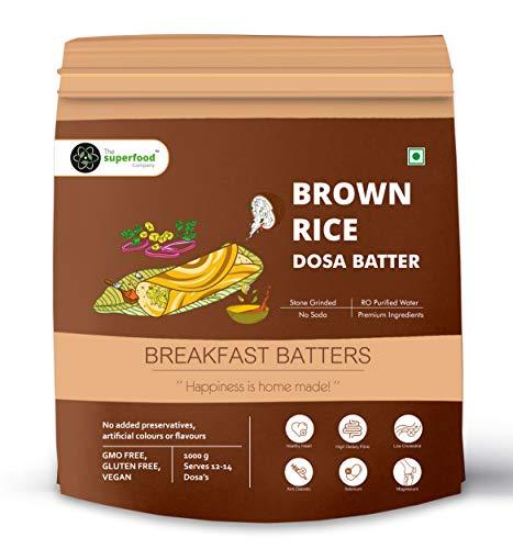 Super Food Brown Rice Dosa Batter Pouch, 1 kg
