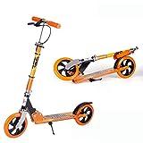 Trottinette pour enfants, poignées réglables rabattables à 2 roues, cadre en...