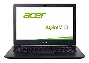 Acer Aspire V 13 (V3-372-57CW) 33,8 cm (13,3 Zoll Full HD IPS) Notebook (Intel Core i5-6267U, 8GB, 256GB SSD, Intel Iris Graphics 550, Win 10 Home) schwarz