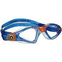 Aquasphere ´ Schwimmbrille Kayenne, klare Gläser, Anti Fog Schwimmbrille, Junior, Schwimmer, blau-orange