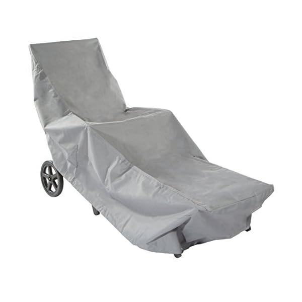 Fodera Protettiva Contro Le intemperie per sedie da Giardino Ultranatura Fodera Protettiva in Tessuto Sylt per Max 6 sedie sovrapponibili
