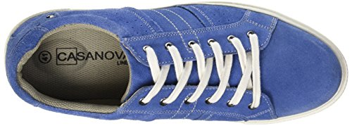 Casanova Lester, Baskets Basses Homme Bleu