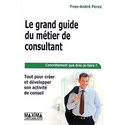 LE GRAND GUIDE DU METIER DE CONSULTANT