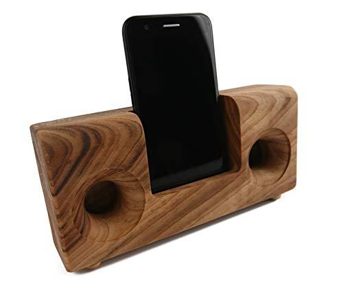 Boumbi Fragrant Camphor Laurel - Soporte madera teléfono