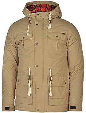 Lee Cooper acolchado Parka chaqueta para hombre caqui chaquetas abrigos Outerwear, caqui, small