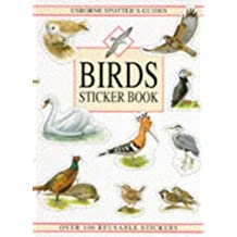 Birds Sticker Book (Usborne Spotter's Guide) by Peter Holden (1994-04-29)