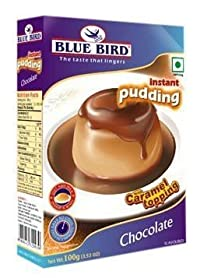 Blue Bird Pudding Caramel Topping Chocolate 100GM (Pack Of 3)