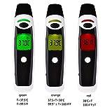 GAYBJ Scanner Fronte Orecchio Termometro infrarosso Senza Contatto Termometro Digitale istantaneo clinico Febbre di Temperatura a infrarossi