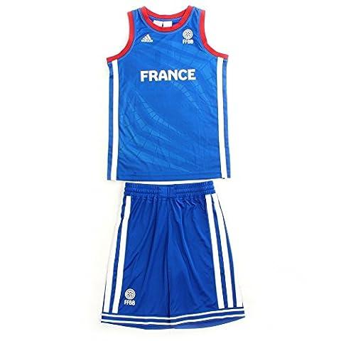Maillot Basket France - Ensemble ADIDAS PERFORMANCE Mini Kit Enfant Basketball