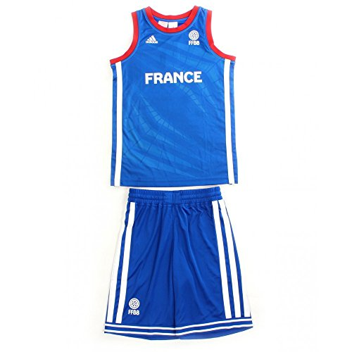 ADIDAS PERFORMANCE Mini Kit Enfant Basketball France FFBB (Basketball-performance-bekleidung)