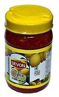 Devon Foods Lime Pickles 1kg Bottle (Pack of 1)