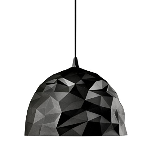 Diesel With Foscarini Rock Lampe Suspendue Noire