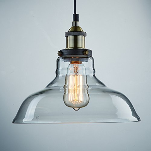 CLAXY-Vintage-Industrial-Glass-Ceiling-Lamp-Shade-Pendant-Light