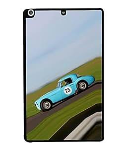 PrintVisa Designer Back Case Cover for Apple iPad Mini 2 :: Apple iPad Mini 2 Wi-Fi + Cellular (3G/LTE); Apple iPad Mini 2 Wi-Fi (Wi-Fi, w/o GPS) (Metallic Travel Classic Shiny Chrome Coupe)