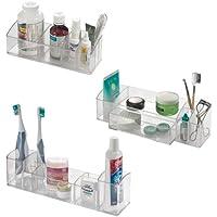 Interdesign Med+, Badezimmer-Organizer/-Aufbewahrung Kombi-Set farblos preisvergleich bei billige-tabletten.eu