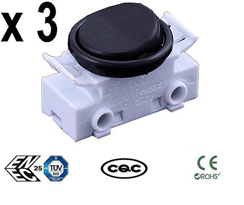 Sucre Auxiliar - 3 paquetes 2 interruptores redondos
