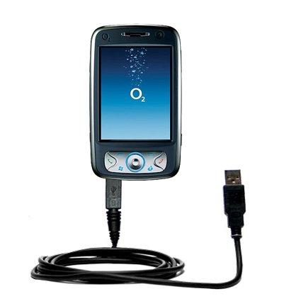 Klassisches Direkt-USB-Kabel für O2 XDA Flame mit Power Hot-Sync und Ladekapazitäten Verwendet die TipExchange Technologie