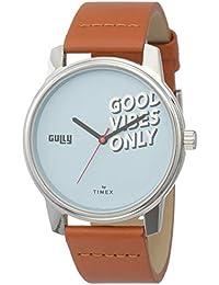 Gully by Timex Talk Analog Blue Dial Men's Watch-TW000V810