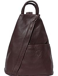 Florence Leather Market Sac à dos et à èpaule Vanna en cuir de vache souple  2061 6338be3b6be