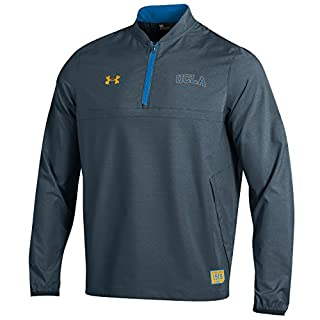 Under Armour Long Sleeve Storm NCAA Men's Field Sideline Cage Jacket, Navy, XX-Large