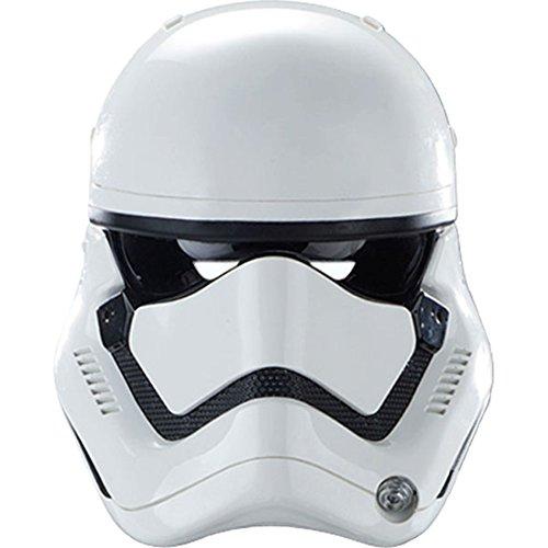 Halloweenia - Star Wars Stormtrooper Maske, Weiß (Film Qualität Stormtrooper Kostüme)