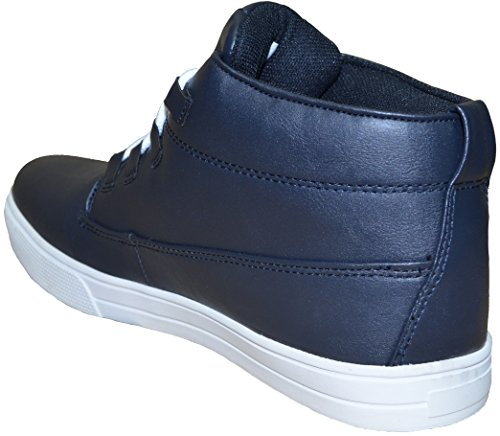 Twisted Faith , Baskets mode pour homme noir noir 47 Bleu Marine