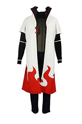 Chong Seng CHIUS Cosplay Costume Hidden Leaf Yondaime Hokage Namikaze Minato Outfit - Minato Hokage Kostüm