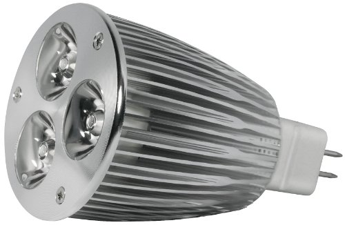 Transmedia LP1-36FQL Power Spot LED 12 V 6 W GU5,3 Blanc Chaud