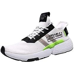Zapatos para Hombre Running Sport Shoes Sneakers Breathable Tenis Leisure Zapatillas Deportivas para Correr Athletic Ocio Atlético Al Aire Libre Montañismo