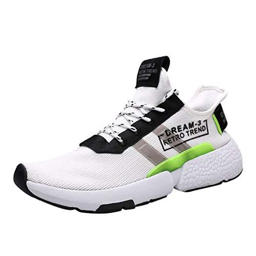 ABsoar Laufschuhe Herren Freizeitschuhe Fashion Basketballschuhe Athletic Sportschuh Walkturnschuhe Schnürhalbschuh Outdoor Sneaker Tennisschuhe