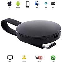 ATETION Display wireless WiFi Dongle 1080P Mini ricevitore per la condivisione di video HD da proiettori Cellulari Supporto per tablet PC Airplay TV Miracast Dongle