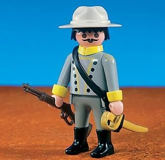 PLAYMOBIL 7663 - Captain der Südstaatler [Spielzeug] [Spielzeug] [Spielzeug]